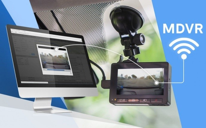 Mobile DVR Monitoring <br>Surveillance System